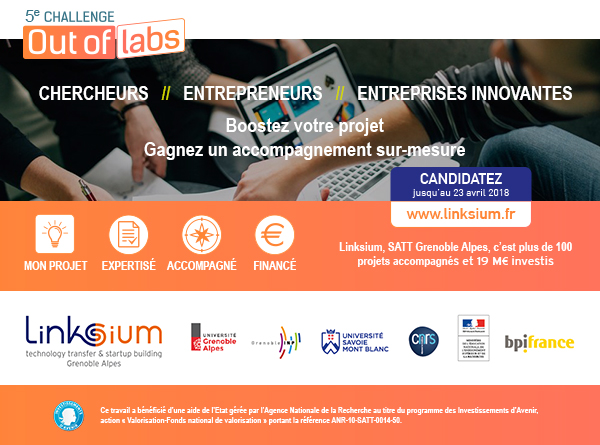 Lancement du 5ème Challenge Out of Labs