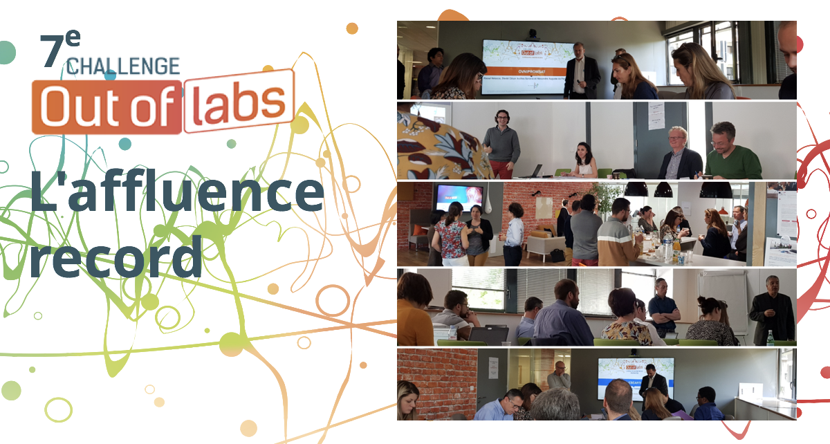 L'affluence record pour le 7ème Challenge Out Of Labs